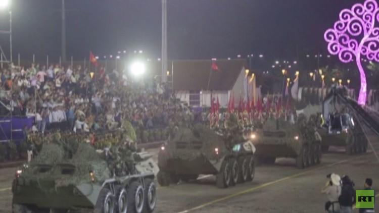 استعراض عسكري في نيكاراغوا إحياء لذكرى تشكيل القوات المسلحة