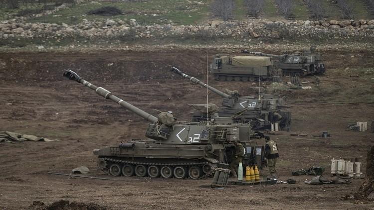 قصف إسرائيلي لمواقع الجيش السوري بريف القنيطرة