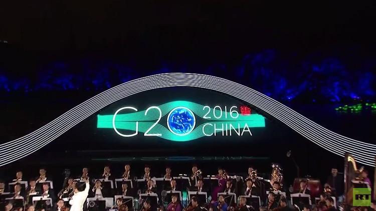 الصين تقدم عرضا مذهلا في افتتاح قمة