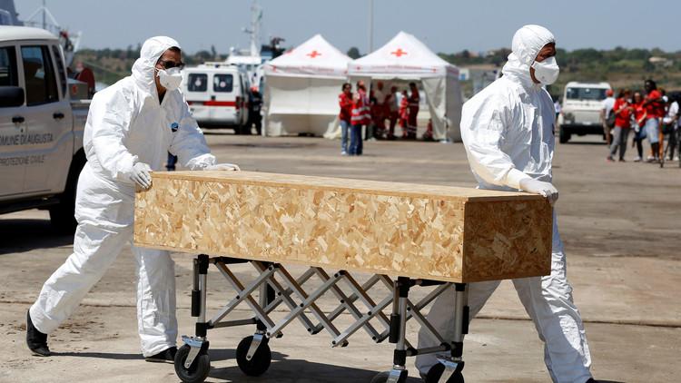 انتشال 15 جثة لمهاجرين في مضيق صقلية