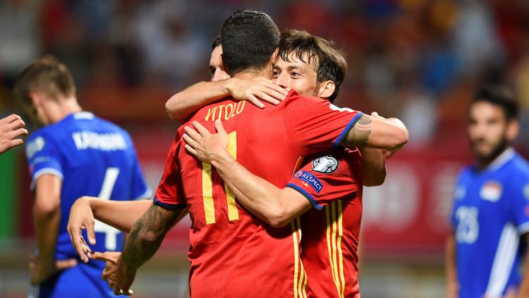 الماتادور الإسباني يمطر شباك ليشتنشتاين بالأهداف