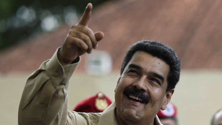 أنصار مادورو يدعون للتظاهر دعما لرئيس فنزويلا
