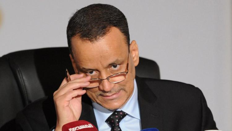 ولد الشيخ يغادر عمان بعد مباحثات مع الحوثيين