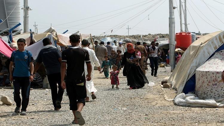 داعش يزرع الألغام في طريق النازحين بالعراق