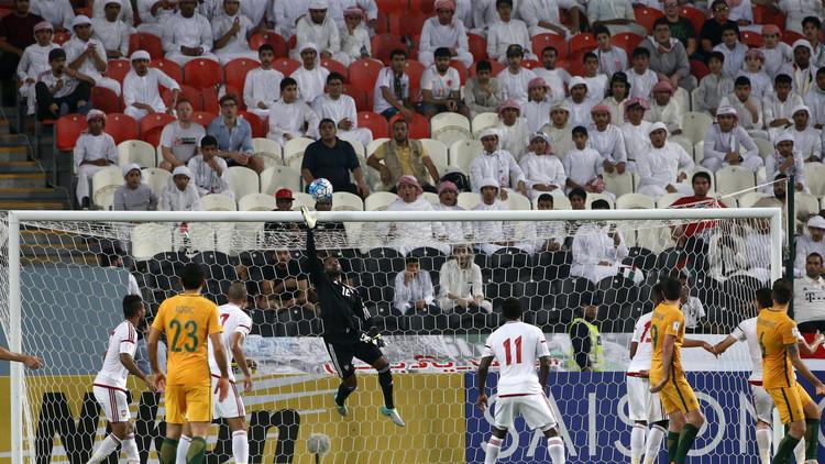 الأبيض الإماراتي يسقط أمام الكنغر الأسترالي