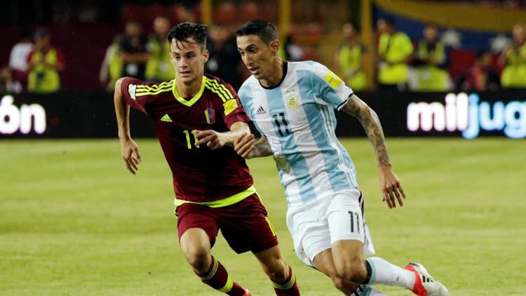 الأرجنتين تتعادل مع فنزويلا في مباراة مثيرة