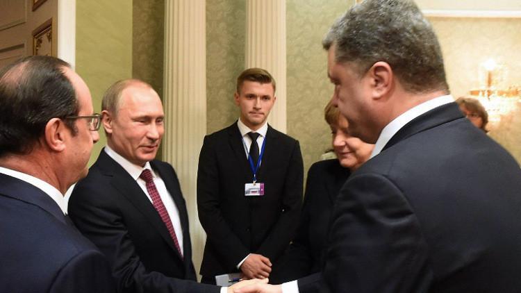 موسكو: بوتين مستعد للقاء بوروشينكو