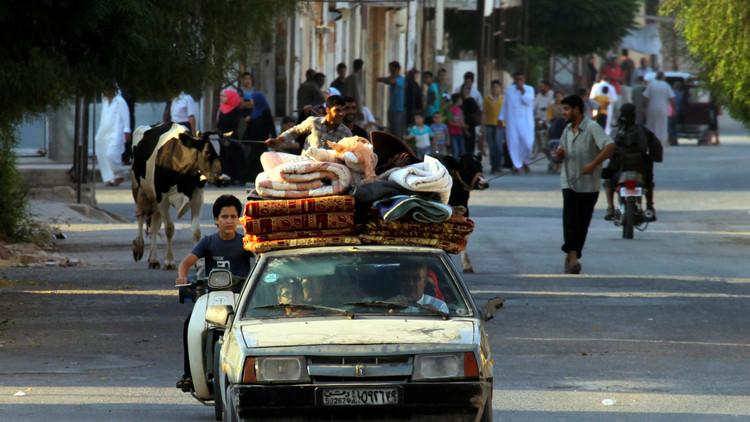 الأمم المتحدة: نزوح 100 ألف شخص من حماة السورية