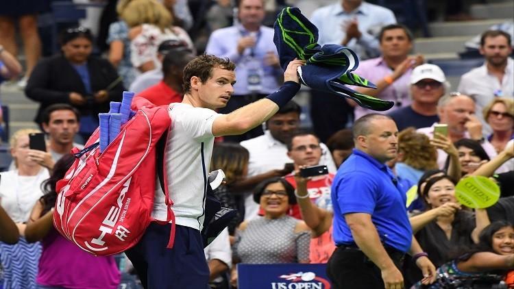 موراي يودع بطولة أمريكا المفتوحة