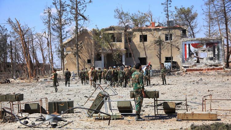 الجيش السوري يسيطر على منطقة الراموسة بالكامل