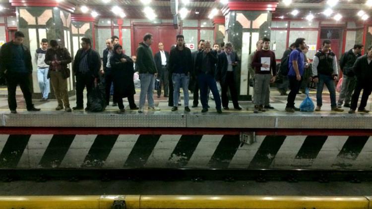 مقتل 4 عمال في مترو أنفاق طهران
