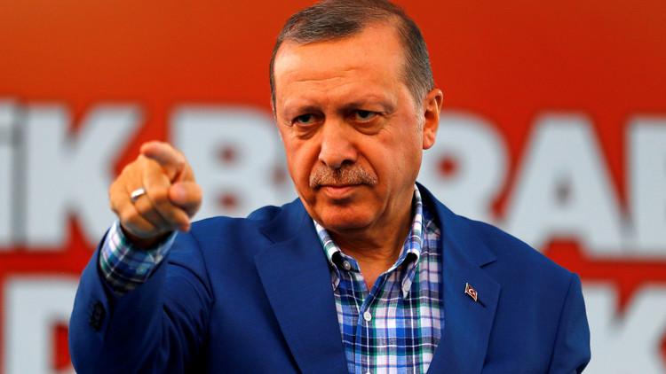 أردوغان: تركيا تجري أكبر عملية ضد