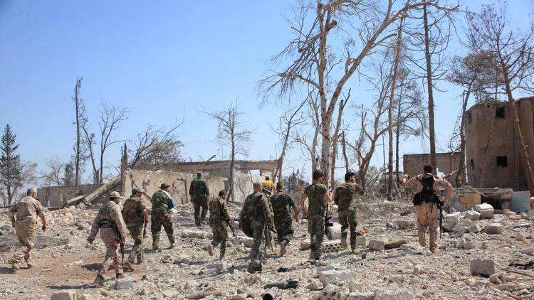 الجيش السورييمهدلإعادةطريقإمدادحلبالجنوبي