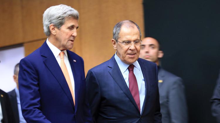 لافروف وكيري في سباق مع الوقت لإنهاء القتال بسوريا قبل العيد