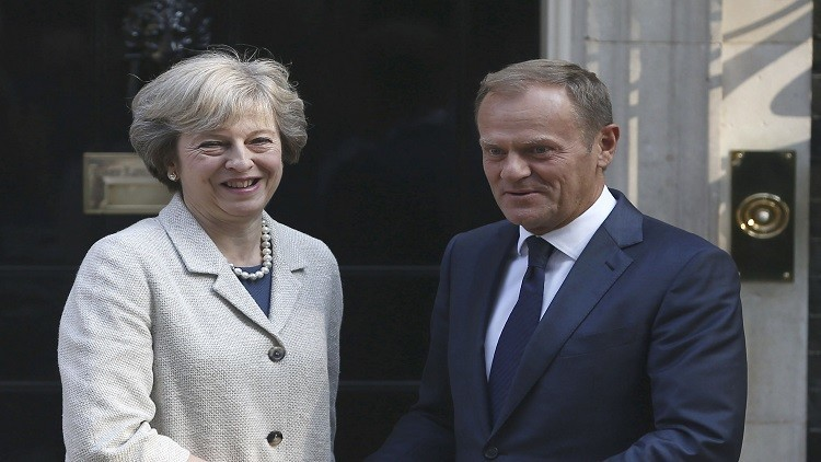 ماي: على لندن وبروكسل العمل معا من أجل خروج
