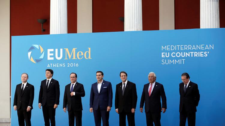 أزمة الهجرة في صلب قمة الدول الأوروبية المتوسطية