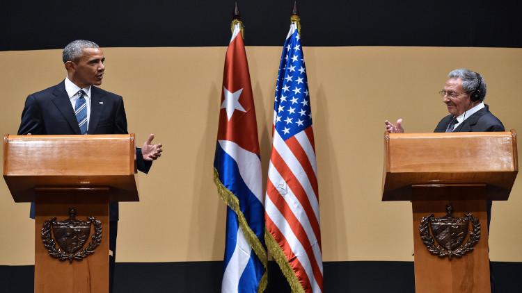 كوبا تهاجم الحصار الأمريكي المفروض عليها