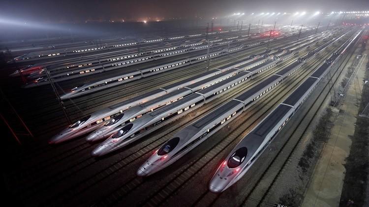 الصين تطلق قطارا سريعا جديدا