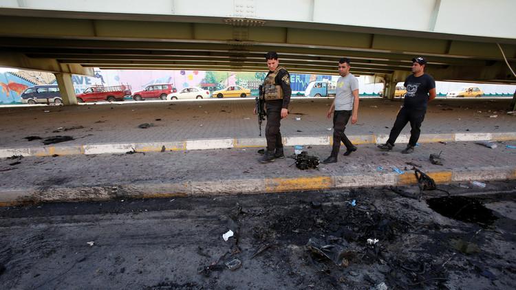 7 انفجارات تهز بغداد في غضون يومين