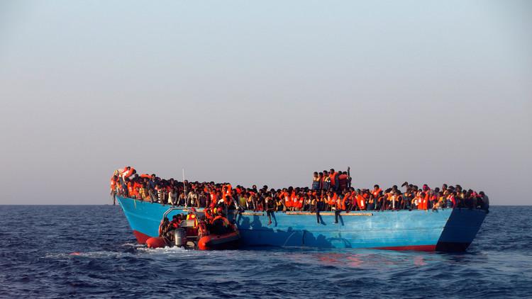 إنقاذ 2300 مهاجر في البحر المتوسط
