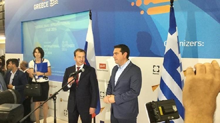 موسكو تدرس المشاركة في مشاريع واعدة باليونان