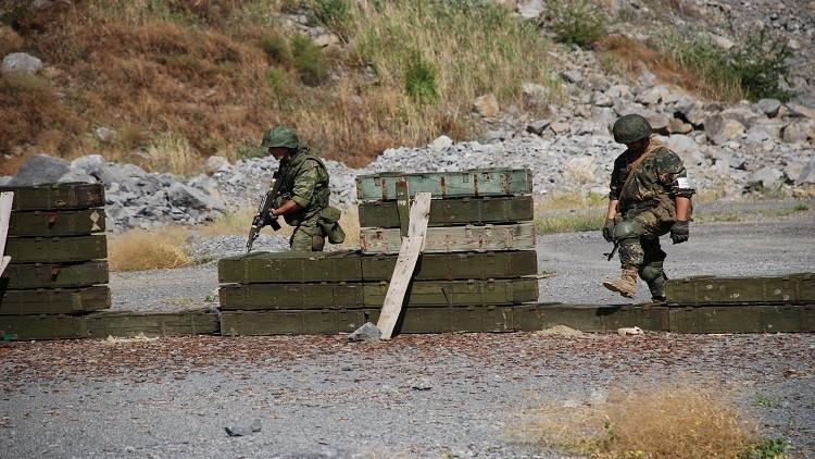 جماعات تخريبية أوكرانية تحاول التسلل إلى دونيتسك