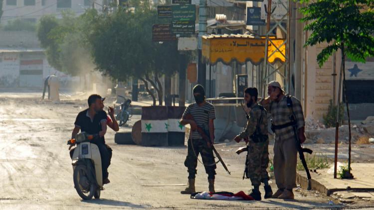 استمرار الأعمال القتالية في ريف حماة
