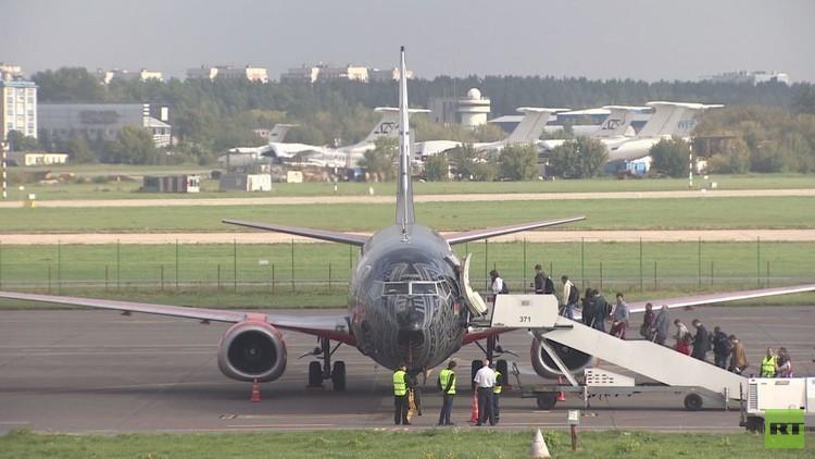 مطار جوكوفسكي الجديد في موسكو يستقبل أولى الرحلات