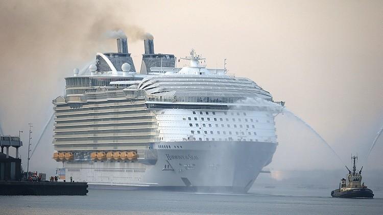 قتيل و4 جرحى في حادث لأكبر سفينة سياحية في العالم