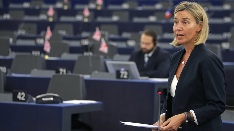 موغيريني: بروكسل وأنقرة متوافقان على عدم وجود حل عسكري في سوريا