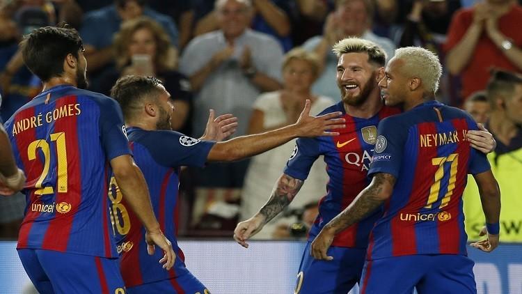 دوري الأبطال.. برشلونة يسحق سيلتك بسباعية نظيفة