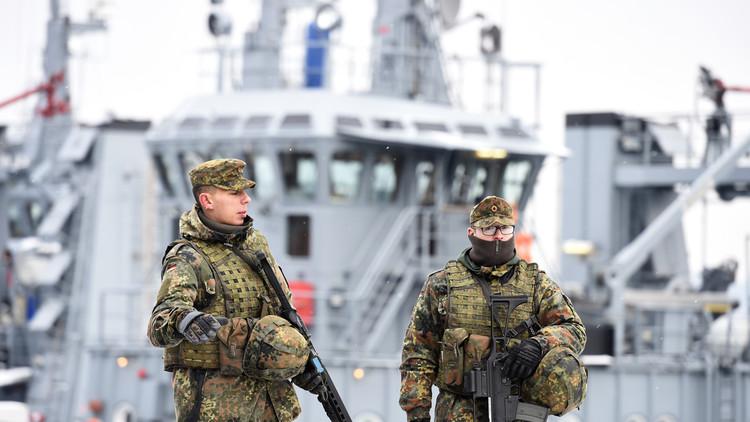 حكومة ألمانيا تنوي إرسال 650 عسكريا إلى المتوسط في إطار محاربة