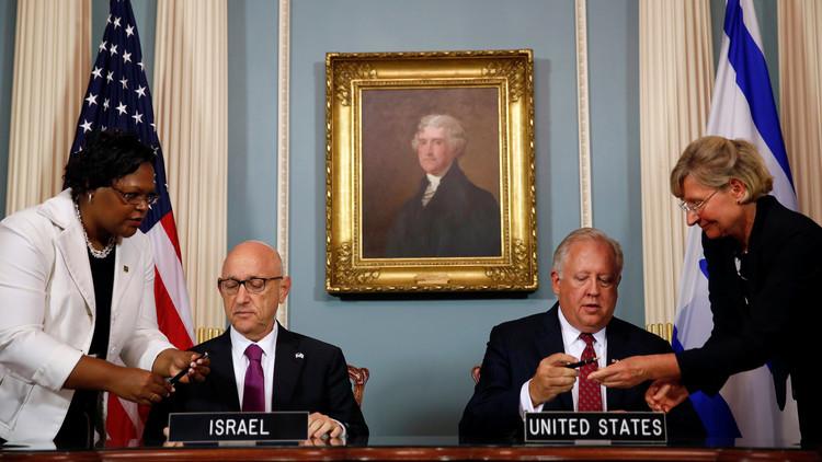 توقيع معونة الـ38 مليار بين واشنطن وتل أبيب