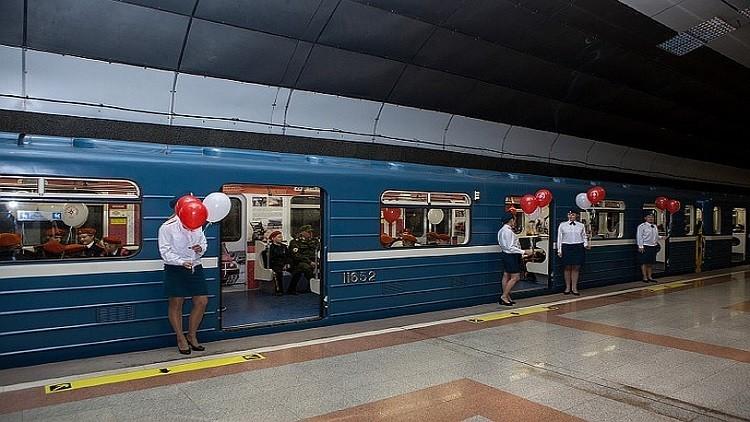 متحف في عربة مترو الأنفاق بمدينة روسية