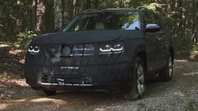 سيارة فولكسفاغن كروس تخضع لاختبارات