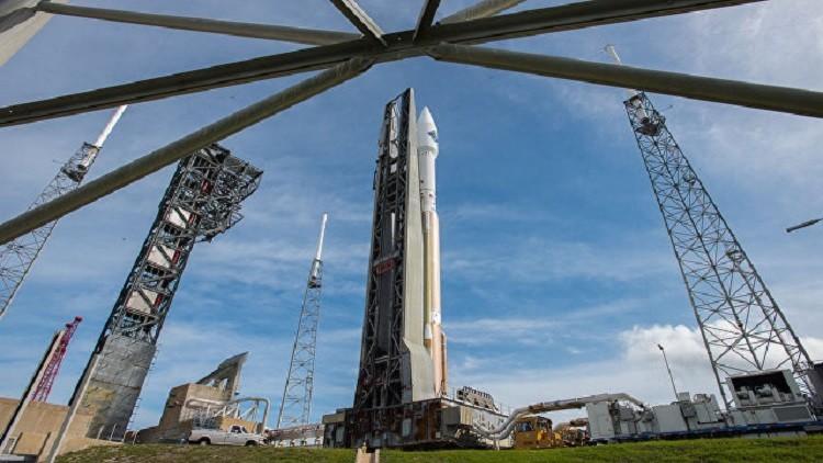 الصاروخ أطلس V يطلق قمر استشعار الأرض عن بُعد