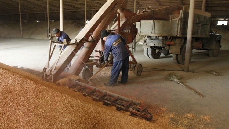 موسكو تطالب طهران برفع الحظر عن واردات القمح