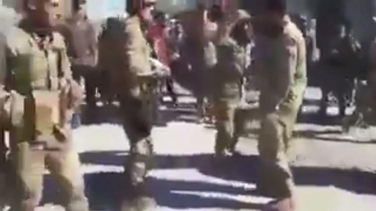 قوات من درع الفرات تطرد جنودا أمريكيين من بلدة سورية