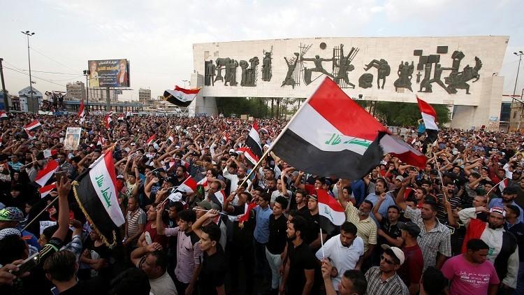 آلاف الصدريين يحتشدون في بغداد مطالبين بإصلاحات