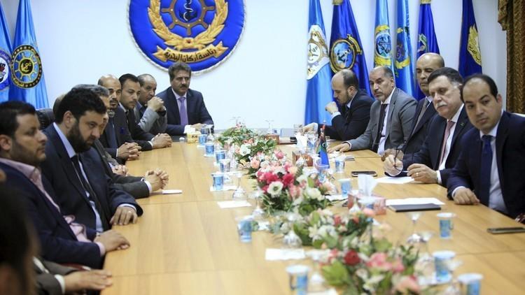 مجلس الرئاسة الليبي بصدد تشكيل حكومة مصغرة
