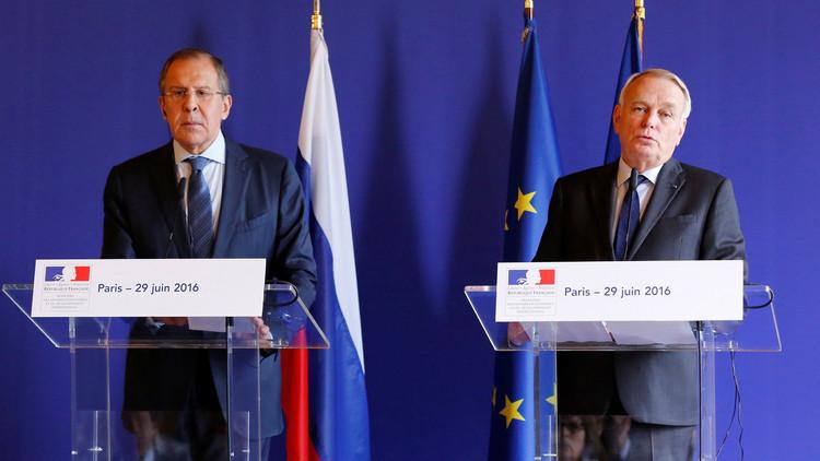 باريس تدعم موقف موسكو الداعي لإعلان تفاصيل هدنة سوريا