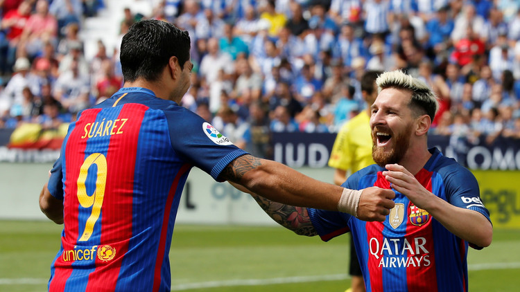برشلونة يكتسح ليغانيس بخماسية ويتصدر الليغا مؤقتا