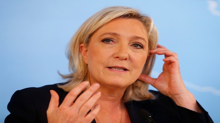 لوبان تستعد لغمار الانتخابات الرئاسية الفرنسية العام المقبل