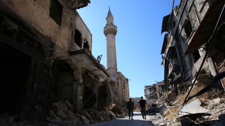 اشتباكات في حلب وسقوط قذائف على دمشق