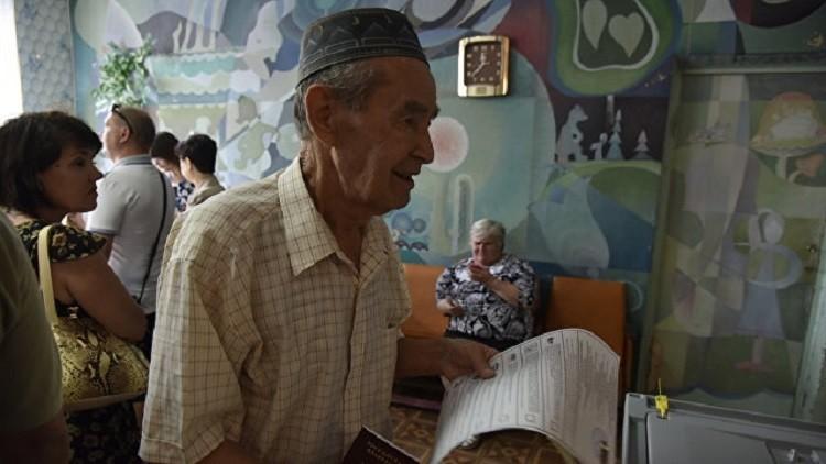 تتار القرم يصوتون بكثافة كبيرة في الانتخابات البرلمانية الروسية