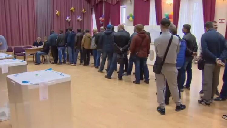 تقدم حزب روسيا الموحدة بانتخابات دوما