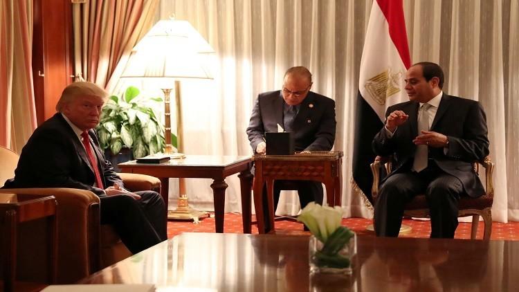 السيسي يلتقي مرشحي الرئاسة الأمريكية