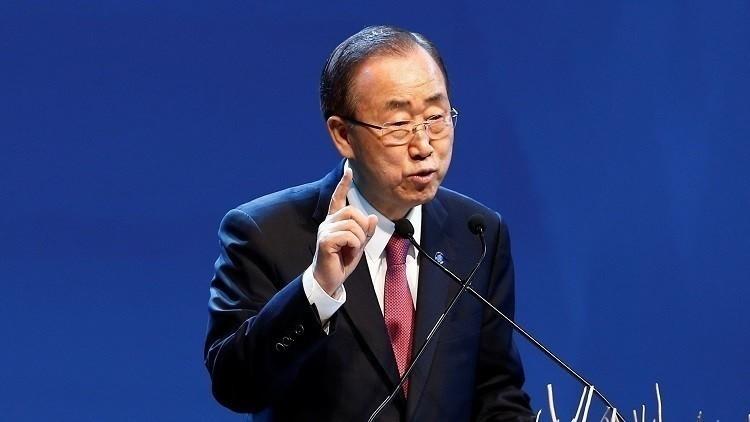 بان كي مون: لا يمكن أن يعتمد مستقبل سوريا على مصير الأسد