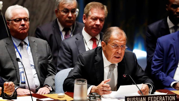 لافروف يدعو لاستئناف المفاوضات السورية بشكل عاجل دون شروط مسبقة