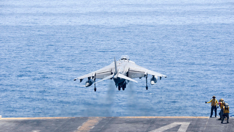 تحطم طائرة حربية أمريكية جنوبي اليابان